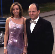 Il Principe Kardam e la Principessa Miriam - foto Hola