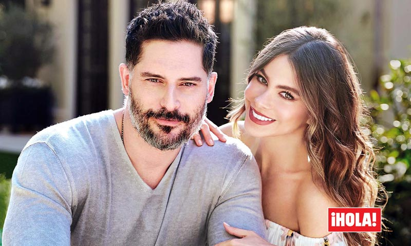 Exclusiva en ¡HOLA!, Sofía Vergara y Joe Manganiello nos invitan a su fabulosa casa de Hollywood