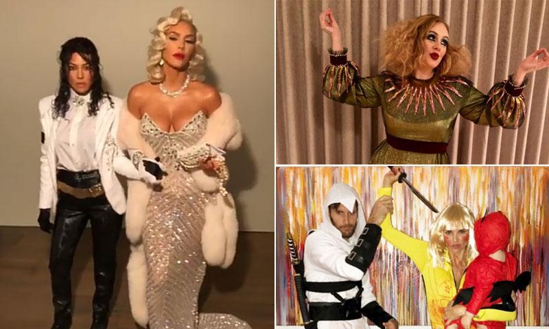 Las 'celebrities' disfrutan de un Halloween cada vez menos terrorífico pero sí muy divertido