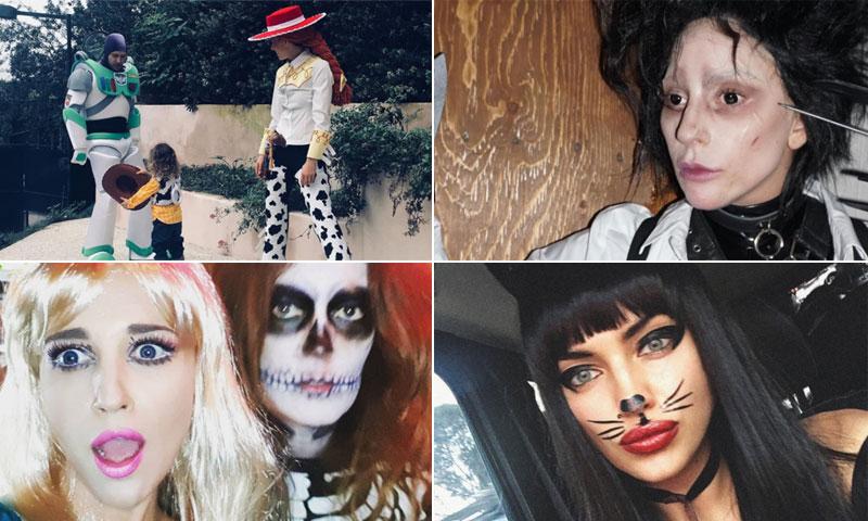 ¡Impresionantes! Los mejores disfraces de las 'celebs' en Halloween