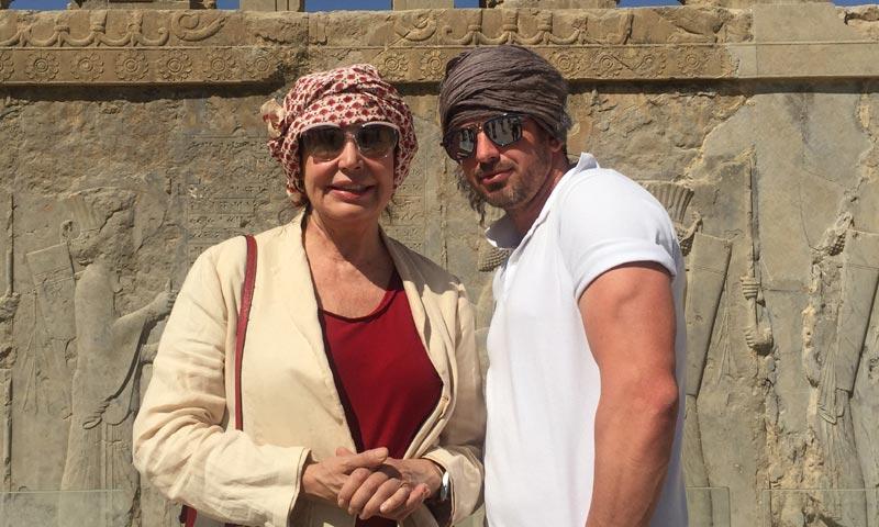 El álbum del espectacular viaje a Irán de Carmen Martínez-Bordíu y su novio Tim