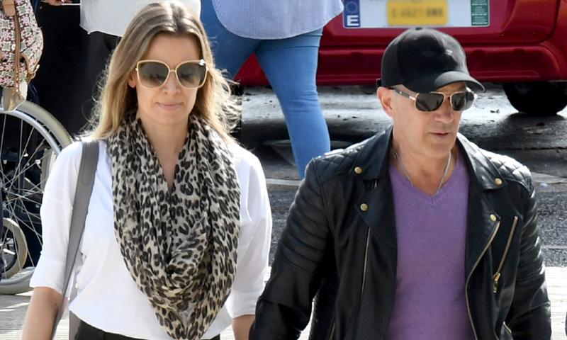 Las palabras de Nicole Kimpel al despedir a la madre de Antonio Banderas