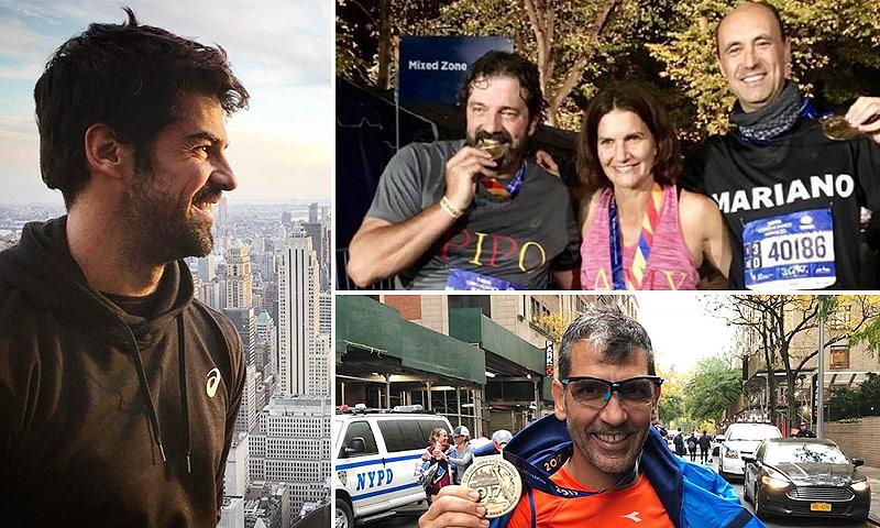 Miguel Ángel Muñoz, Rosauro Varo, Samantha Vallejo-Nágera... ¡todos a una en la maratón de Nueva York!
