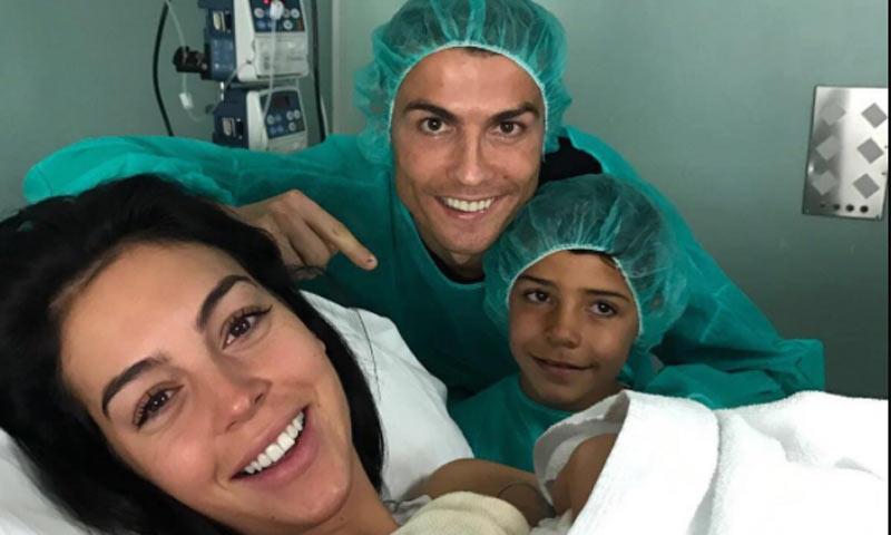 Cristiano Ronaldo y Georgina Rodríguez ya han sido padres de Alana Martina