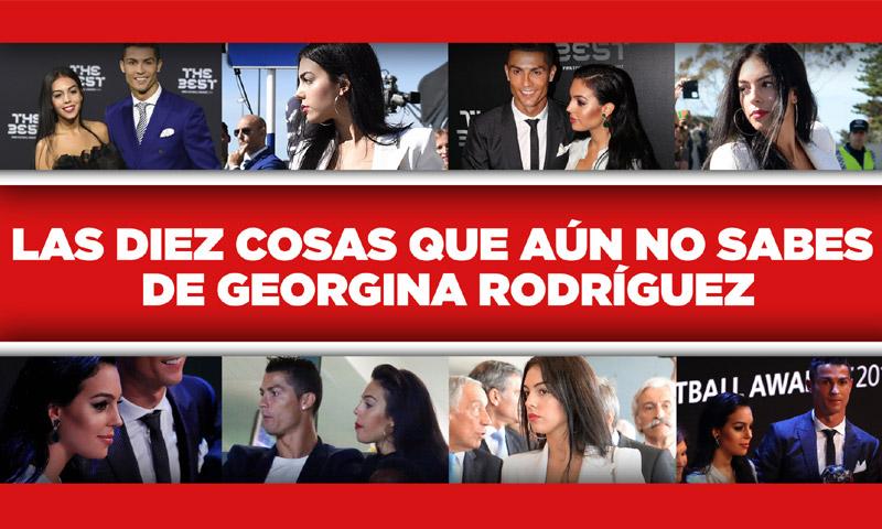 En vídeo: Georgina Rodríguez al descubierto