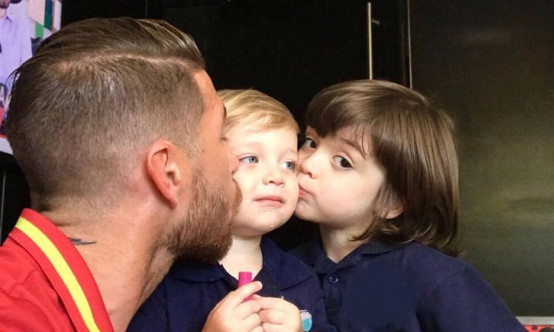 ¡Todo un padrazo! Sergio Ramos se pone nostálgico en el segundo cumpleaños de su hijo Marco
