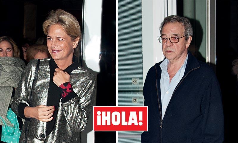 En ¡HOLA!, las imágenes que confirman la relación de Isabel Sartorius y César Alierta