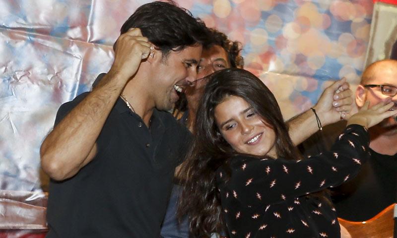 ¡Vaya ritmo! El divertido baile flamenco de Francisco Rivera con su hija Cayetana
