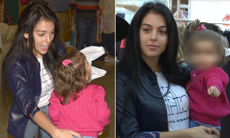 Georgina Rodríguez saca su lado más maternal ¡y los niños la adoran!