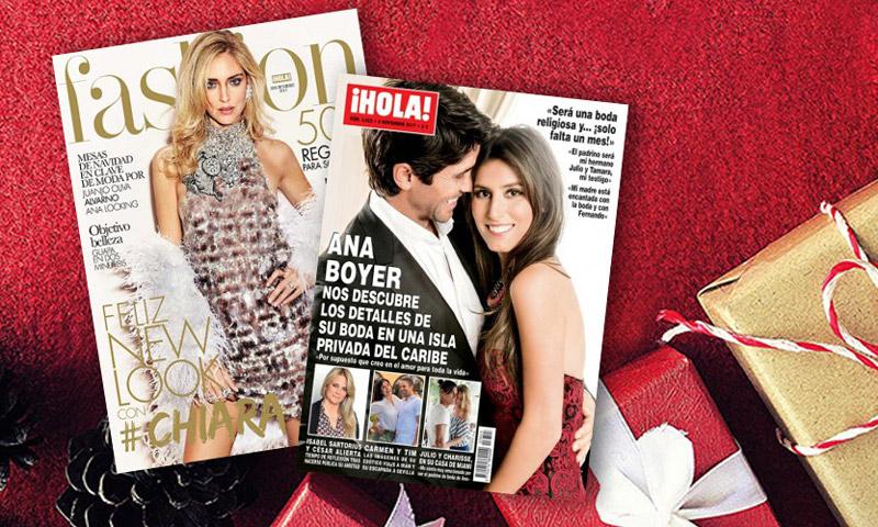 Esta Navidad regala ¡HOLA! y H!Fashion