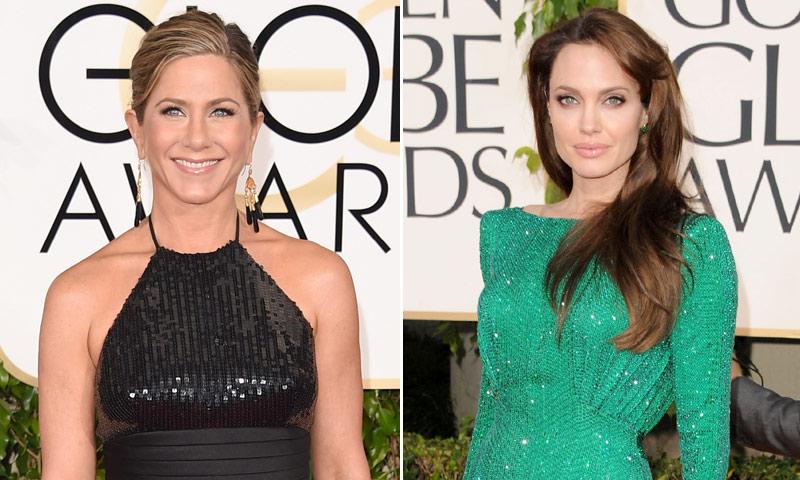 Globos de Oro 2018: El encuentro más esperado de los Globo de Oro: Jennifer Aniston y Angelina Jolie