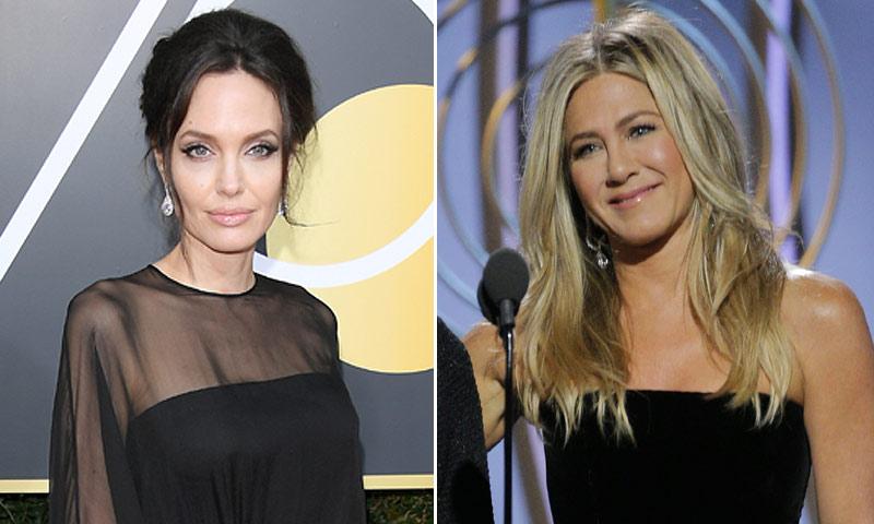 El reencuentro de Jennifer Aniston y Angelina Jolie