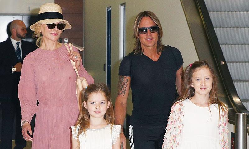Sunday y Faith, hijas de Nicole Kidman, ¡han dado el estirón!