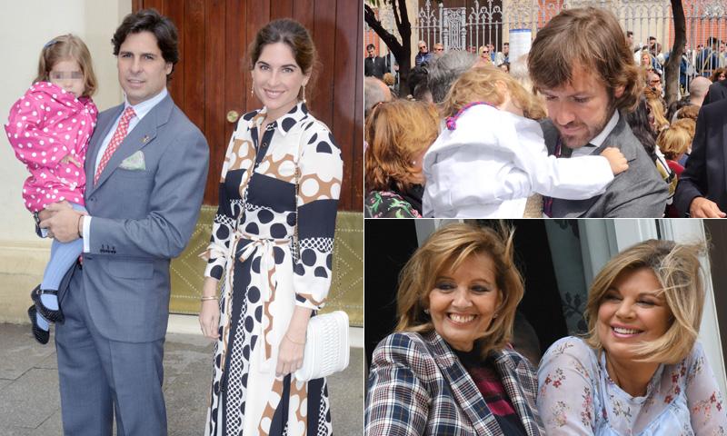 FOTOGALERÍA: Francisco Rivera y Lourdes Montes, la familia Campos, Rosauro Varo... devotos de la Semana Santa