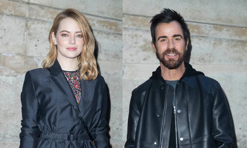 Emma Stone y Justin Theroux, ¿más que amigos?