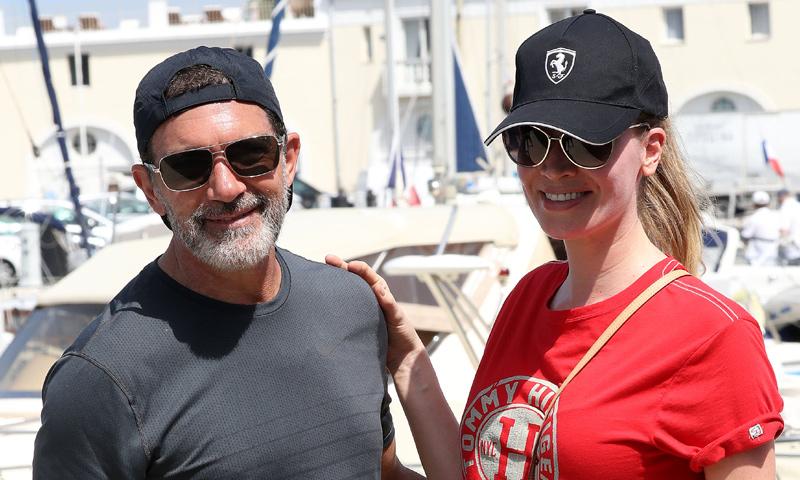 Antonio Banderas y Nicole Kimpel, descanso en la Costa Azul antes de poner rumbo a Miami