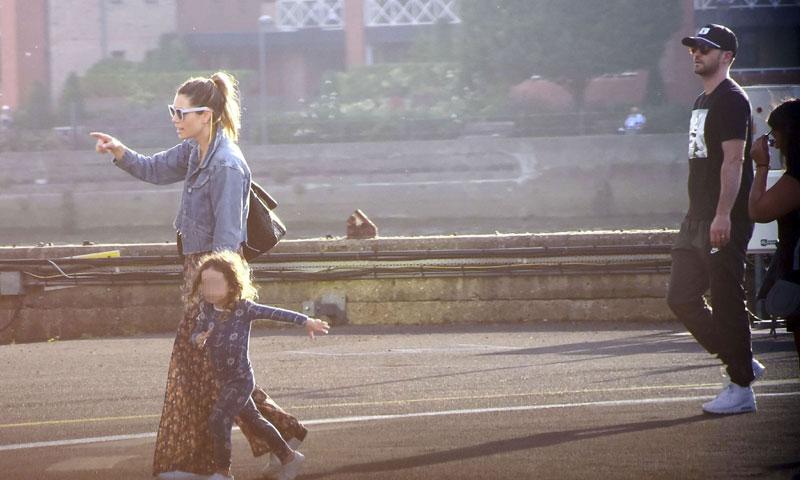 Exclusiva: Justin Timberlake, de gira con su mujer, Jessica Biel, y su hijo