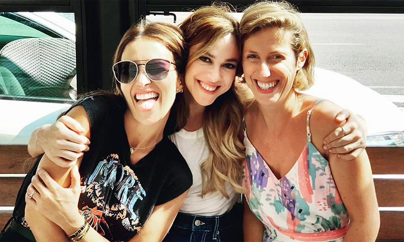 El reencuentro de Paula Echevarría y las 'chicas Velvet' con anécdota incluida