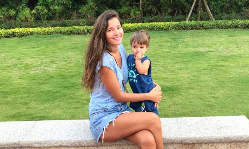 bf242ff0c Malena Costa muestra orgullosa los primeros pasos de su hijo Mario