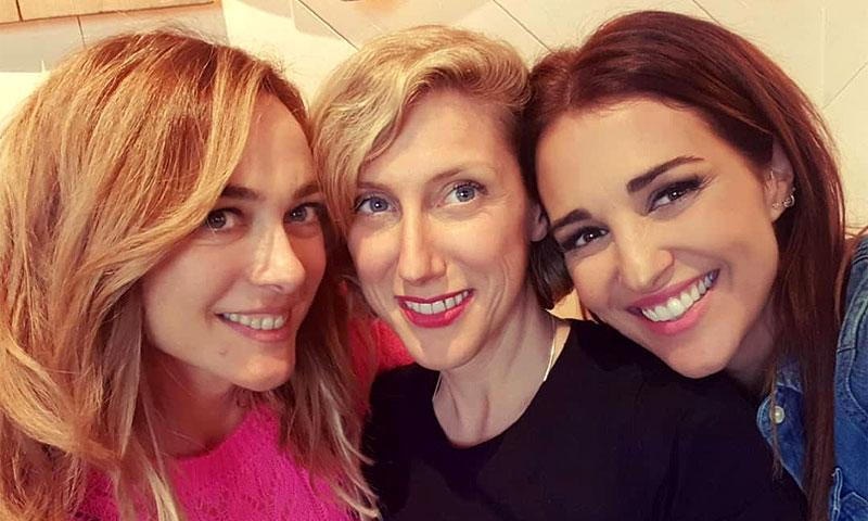 El reencuentro de Paula Echevarría con sus chicas Velvet