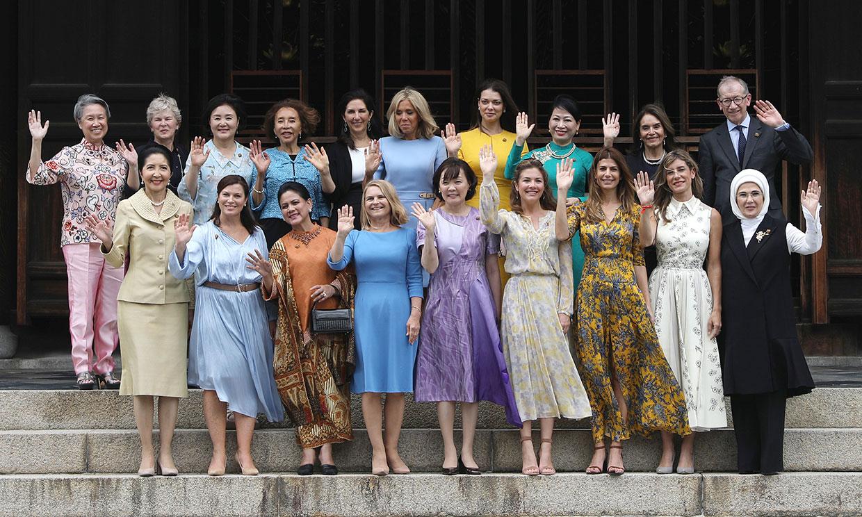 Begoña Gómez, entre primeras damas y un único caballero en la foto de familia del G-20