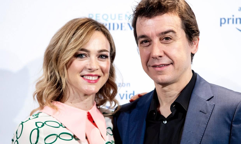 Marta Hazas y su marido Javier Veiga, de nuevo juntos en 'Pequeñas coincidencias'
