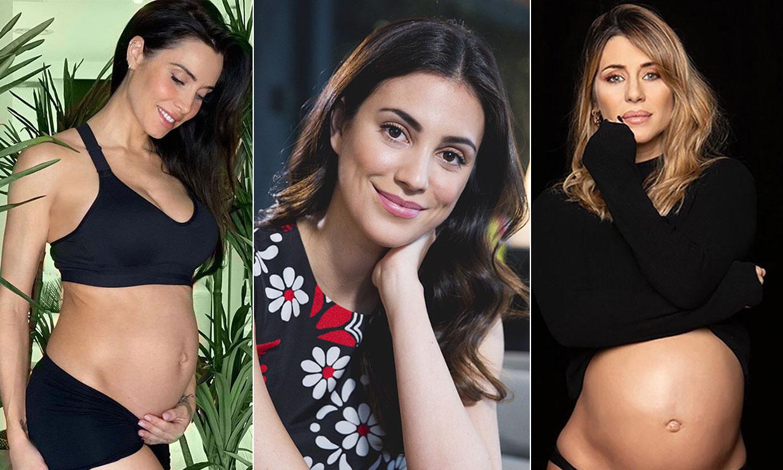 Alessandra de Osma, Malú, Pilar Rubio o Elena Tablada aguardan con valentía y serenidad el nacimiento de sus bebés