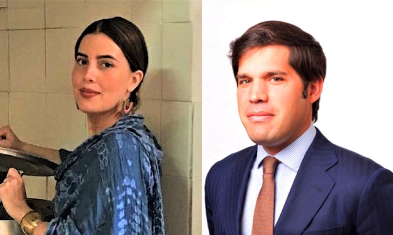 ¿Quiénes son Beltrán Palazuelo y Blanca Barrera-Cuadra, los padrinos de la hija de los duques de Huéscar?