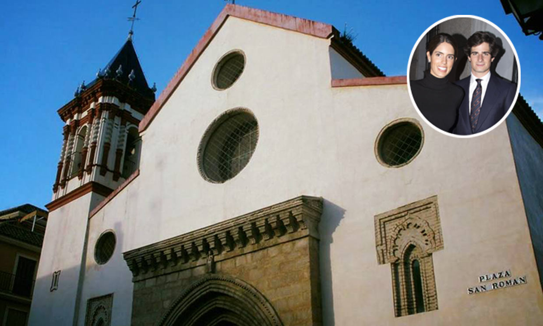 Detalles e historia de la parroquia de San Román, un templo lleno de historia en el que bautizan a la nieta del duque de Alba