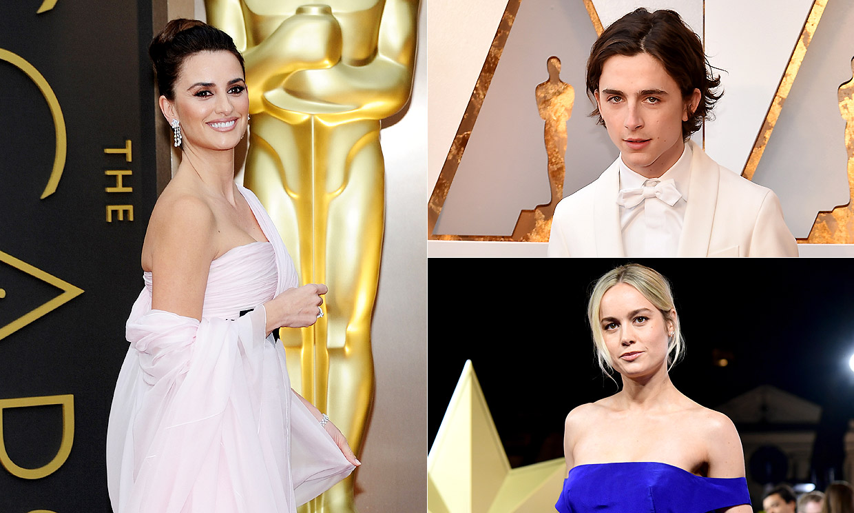 Penélope Cruz, Timothée Chalamet, Brie Larson... esta es la lista de presentadores de los Oscar