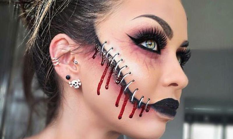 cinco consideraciones a tener en cuenta antes de maquillarte en halloween - Como Maquillarse En Halloween