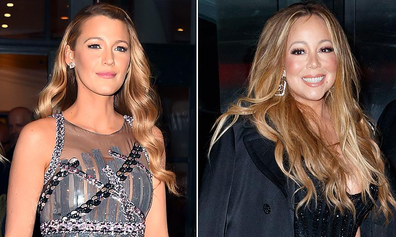 Nunca adivinarías lo que tienen en común Blake Lively y Mariah Carey