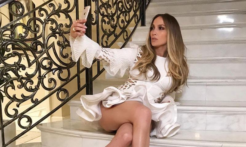 ¿Qué corte de pelo lleva Jennifer Lopez cuando se quita las extensiones?