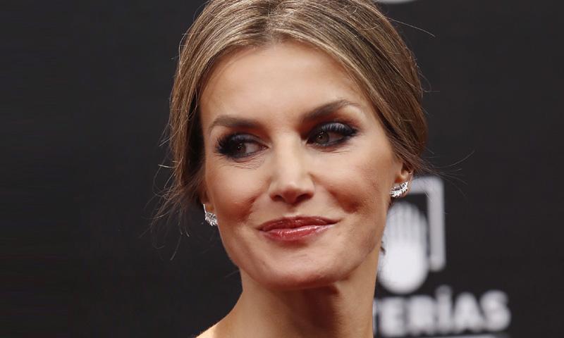 El cambio de maquillaje de la reina Letizia