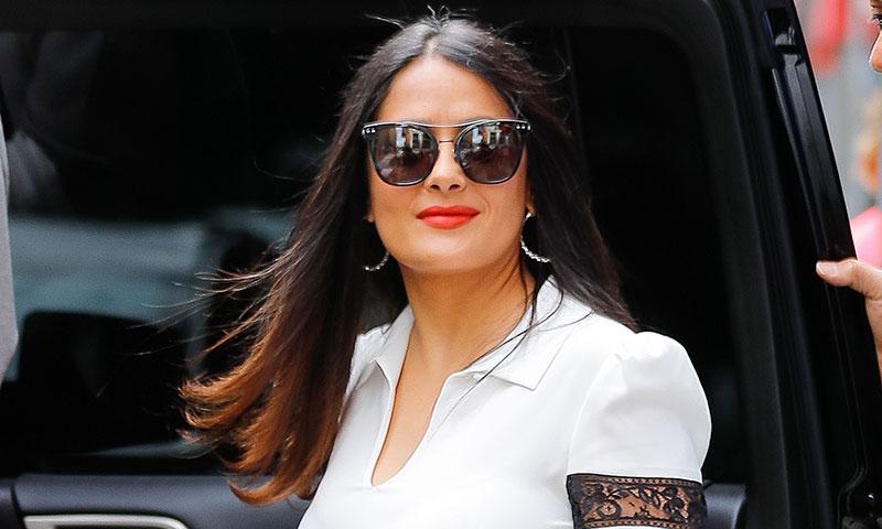 Salma Hayek sorprende en Instagram con un nuevo cambio de 'look'