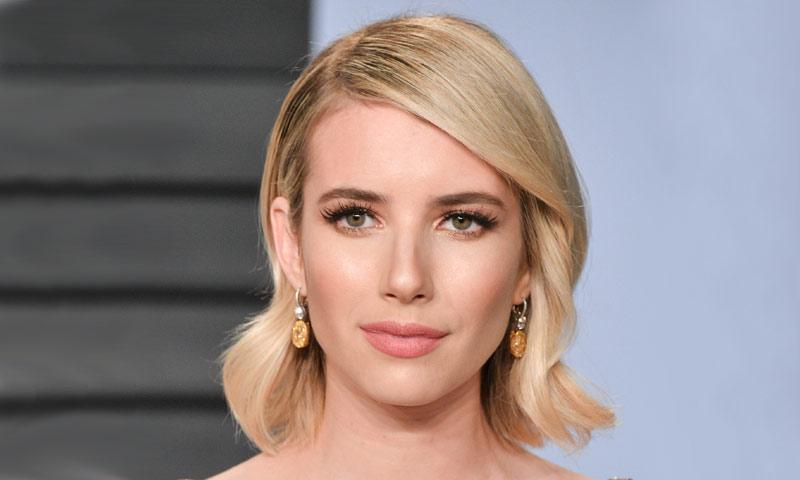 Emma Roberts estrena melena 'millennial pink'