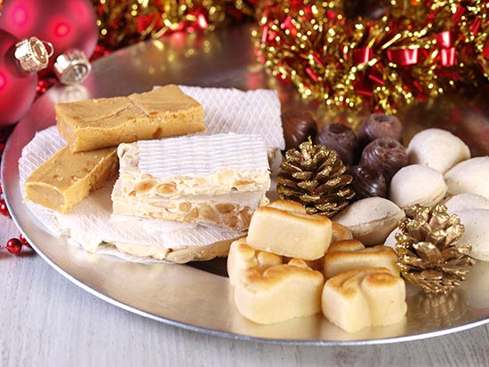Resultado de imagen de fotos de dulces navideños españoles