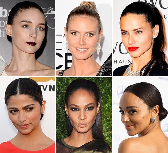 Peinados recogidos famosas