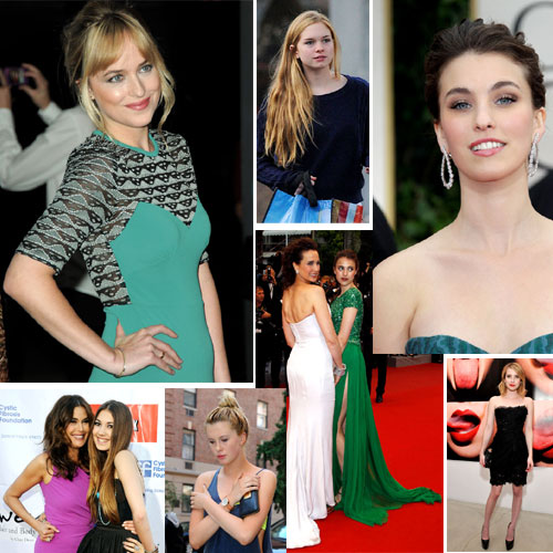 Dignas herederas del 'glamour' hollywoodense