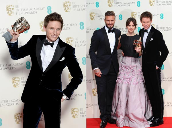 Eddie Redmayne, el chico de moda en Hollywood, más 'solicitado' que Tom Cruise y David Beckham