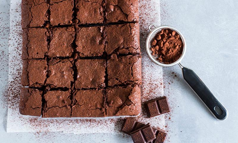 Más ligero, pero delicioso: El 'brownie' (sin harina) más 'light'