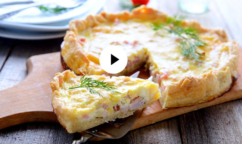 Vídeo-recetas: Quiche Lorraine, una clásico de la cocina francesa… ¡fácil y delicioso!