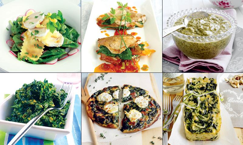 Seis recetas con espinacas para que la fuerza (¡y el sabor!) te acompañen