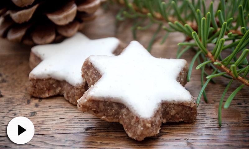 En vídeo: endulza la Navidad con estas galletas de canela. ¡Imposible resistirse!