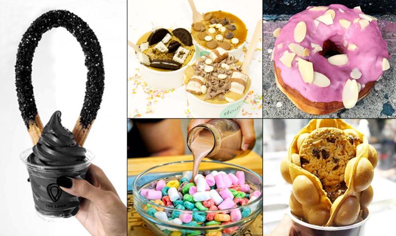 Tendencias 'gastro': Dulces, 'instagrameables' y (en algunos casos) muy locas