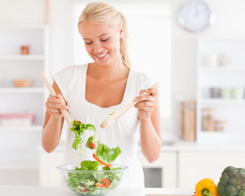 Dieta sana variada y equilibrada