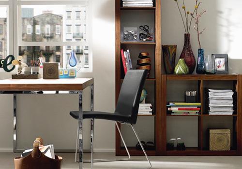 Optimiza poco espacio para delimitar un gran despacho