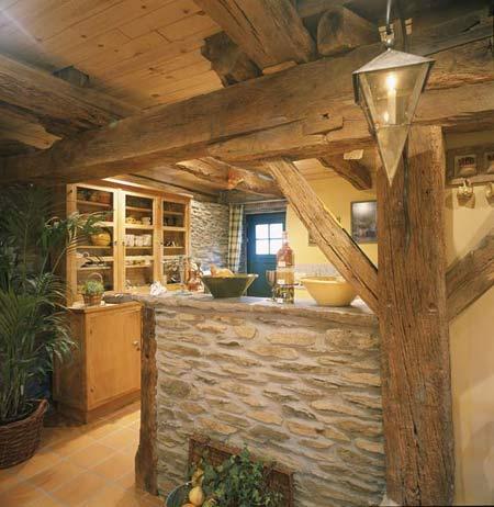 Estilo Rustico En La Cocina - Cocinas-rusticas-de-campo