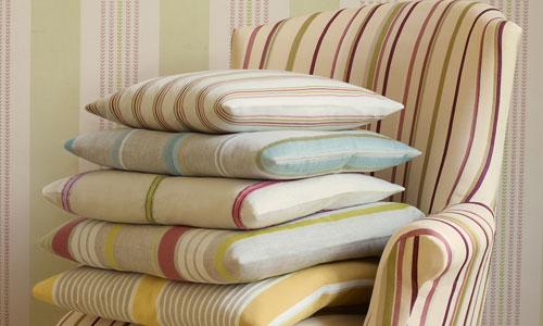 Textiles que cambian el look de tu hogar