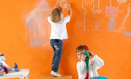 Paredes infantiles: imaginación al poder